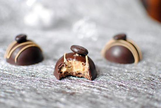 recette Chocolat à la mousse de chocolat au café