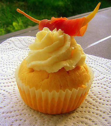 recette Cupcake jambon de Bayonne et fromage de brebis