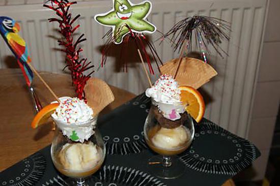 Recette de coupe de glace chocolat orange - Recette de coupe de glace ...