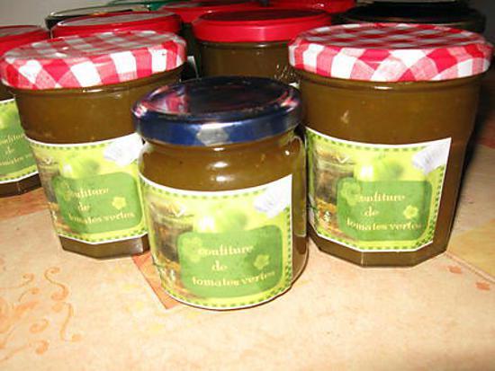 recette gelée de pommes et tomates(sans peaux, ni pépins)