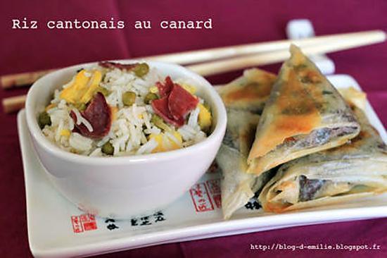 recette Riz cantonais au canard