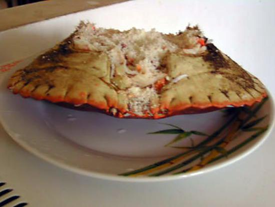 recette de crabes farcis. Black Bedroom Furniture Sets. Home Design Ideas