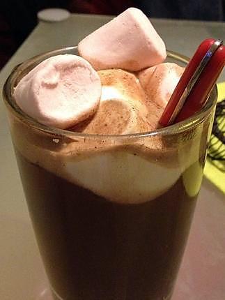 recette Chocolat chaud aux Marshmallows