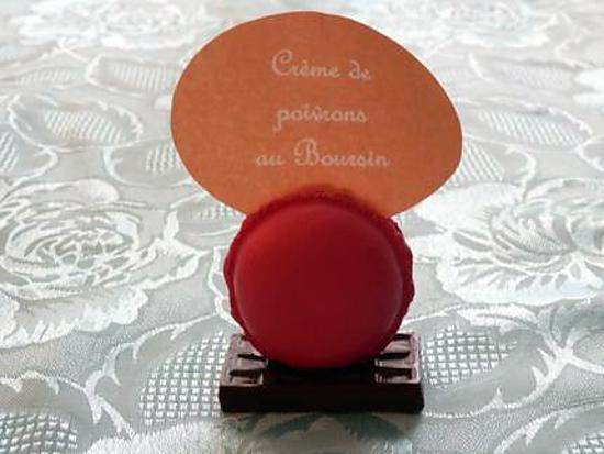 recette Crème de poivrons au Boursin