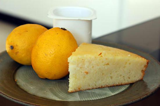 recette Gateau au yaourt au citron