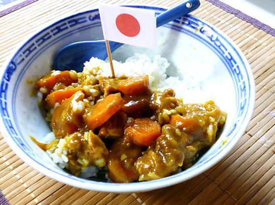recette de curry japonais par clarinette. Black Bedroom Furniture Sets. Home Design Ideas