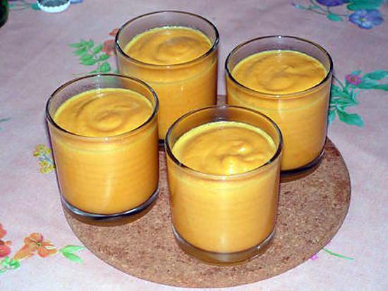 recette Crème de potiron
