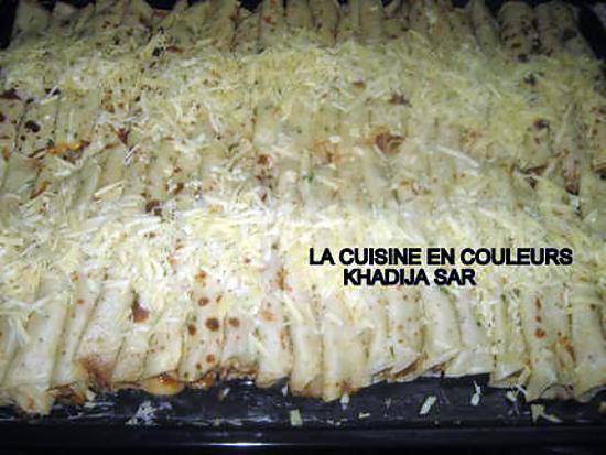 recette Crêpes farcies aux crevettes et aux filets de soles