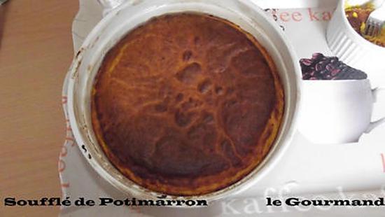 recette Soufflé de potimarron