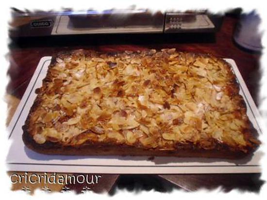 recette Frangipane pommes/amandes
