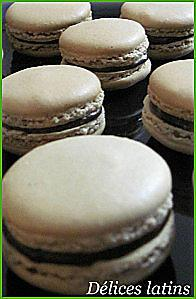 recette Macarons chocolat-café
