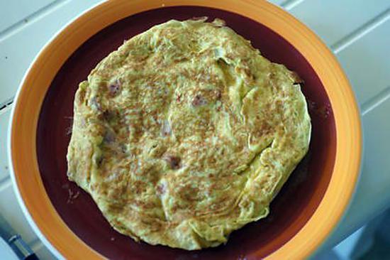 recette Omelette vaporeuse aux champignons des bois