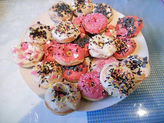 recette mini donuts pour machine a donuts