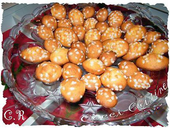 Recette De Madeleines Aux Sucres Perles