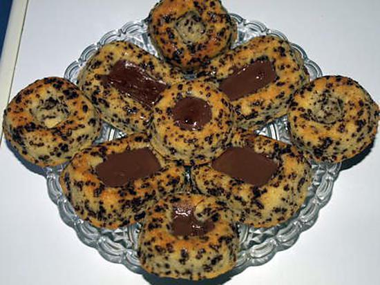 recette gateaux moelleux aux pailettes de chocolat