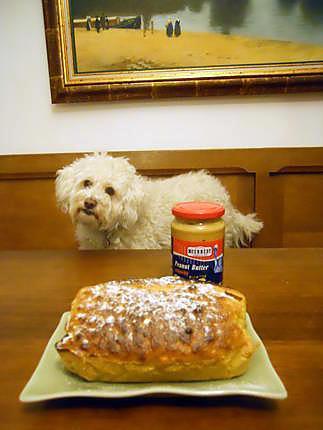 recette Cake au beurre de cacahuète pour mon beau-frère François