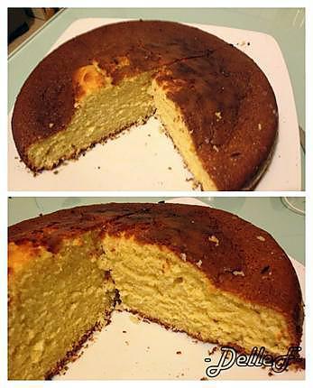 recette Gâteau Noix de Coco - Orange