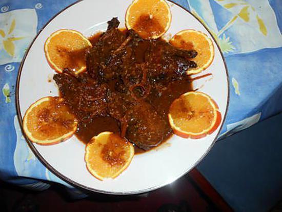 recette Canard col-vert braisé à l orange