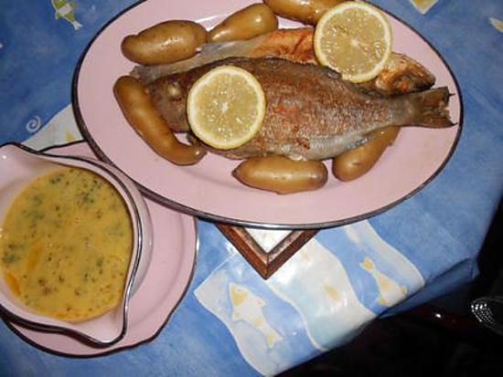 recette Tacaud au beurre d aneth