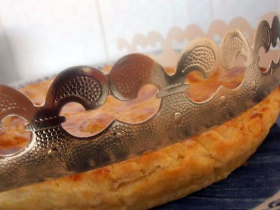recette galette des rois de l'épiphanie (poire et pralinoise)