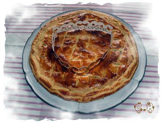 recette Galette des Rois aux pommes