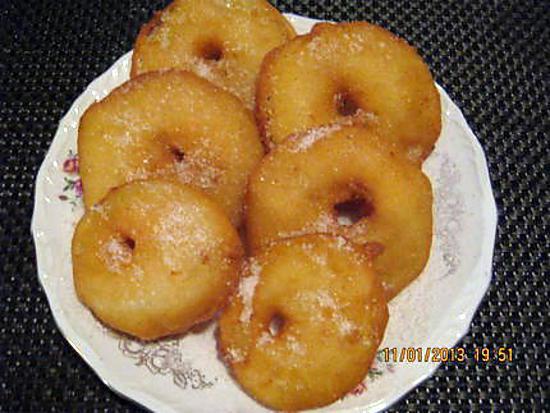 Recette de beignets aux pommes par cremina - La ferme aux beignets ...