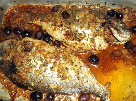 recette Dorades royales sauce chermoula