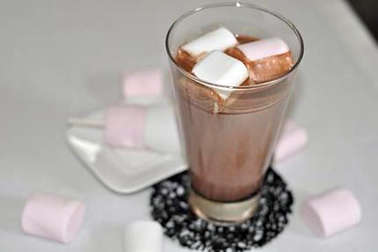 recette de chocolat chaud chamallows. Black Bedroom Furniture Sets. Home Design Ideas