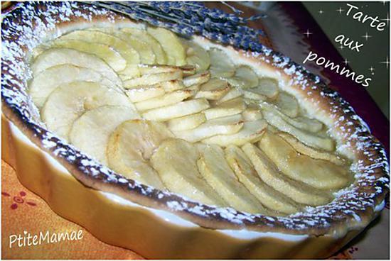 recette Tarte aux pommes grand mère