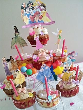recette Tour de Princesses  (Assortiments de cupcakes)