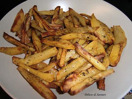 recette Frites maison cuites au four
