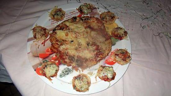 recette de ma pizza saumon champignons avec recette de pate a pizza de jeanmerode. Black Bedroom Furniture Sets. Home Design Ideas