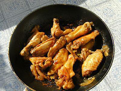 recette Ailes de poulet, variante