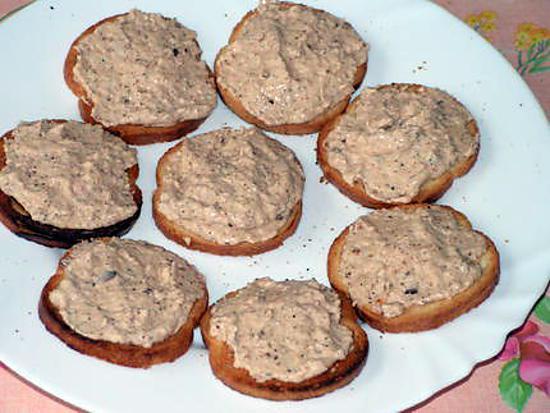 Recette de mousseline de saumon sur toast - Apero facile et rapide ...