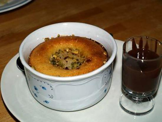 recette Poires Amandines et Sa Sauce Chocolat