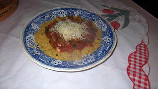 recette semoule de couscous tomates courgettes origan,,,recette revisitée de kapiluka