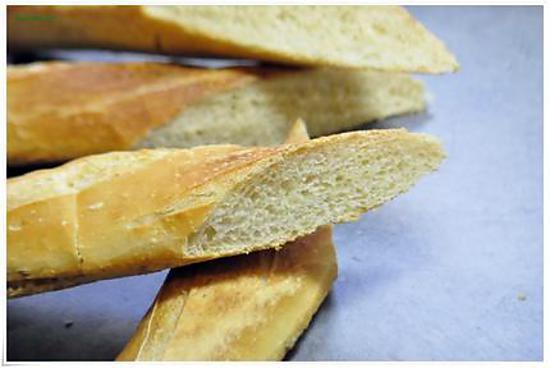 recette La Baguette française  recettes faciles et inratable.