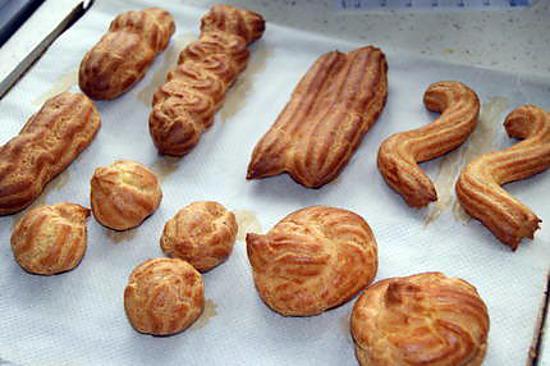 pâte à choux ~ astuces et trucs de cuisine