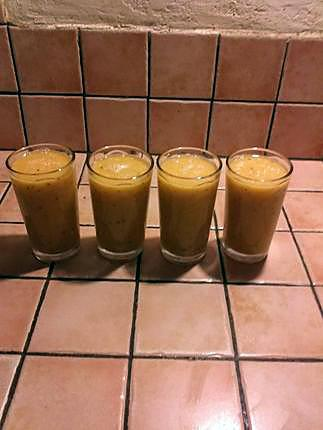 "recette Smoothie ""plein de vitamines"""