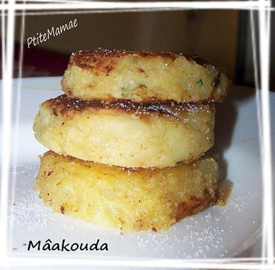 """recette Galettes de pommes de terre """" Mâakouda batata """""""