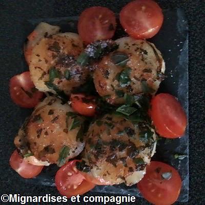 recette Noix de saint jacques et ses tomates cerises