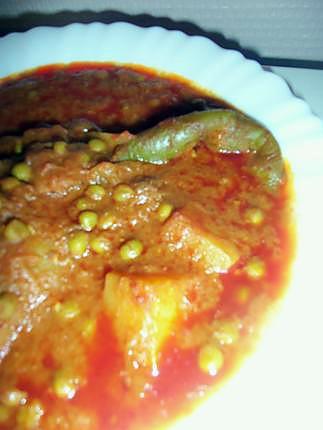 recette Plat tunisien aux petits pois et coeurs d'artichaut
