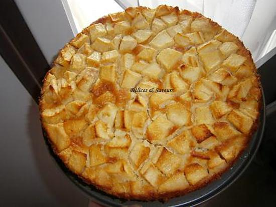 recette Clafoutis aux pommes et à la poudre d'amandes
