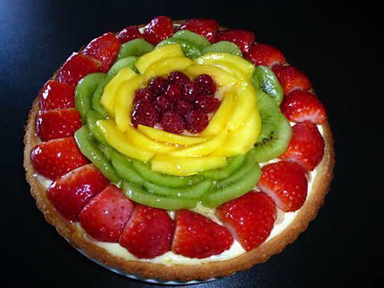 recette de tarte aux fruits par fatima84. Black Bedroom Furniture Sets. Home Design Ideas