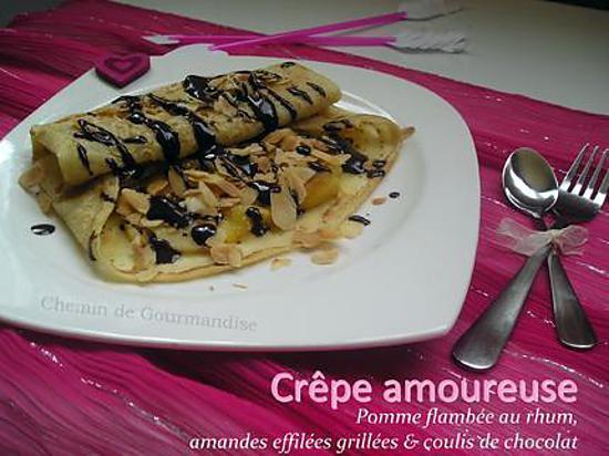 recette Crêpes amoureuse [St Valentin]