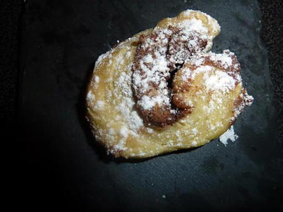 recette Palmier nutella coco