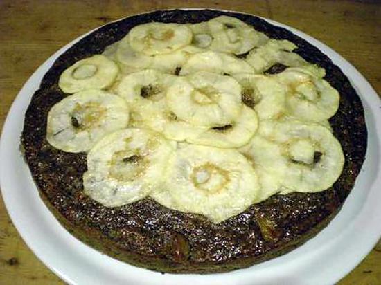 recette Tarte aux pommes épicée et bio