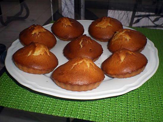 recette Petits gâteaux au miel