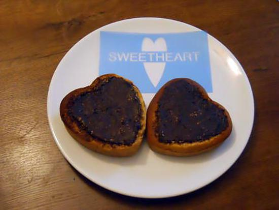 Recette de petits coeurs pour le petit d jeuner de la saint valentin - Gateau pour le petit dejeuner ...