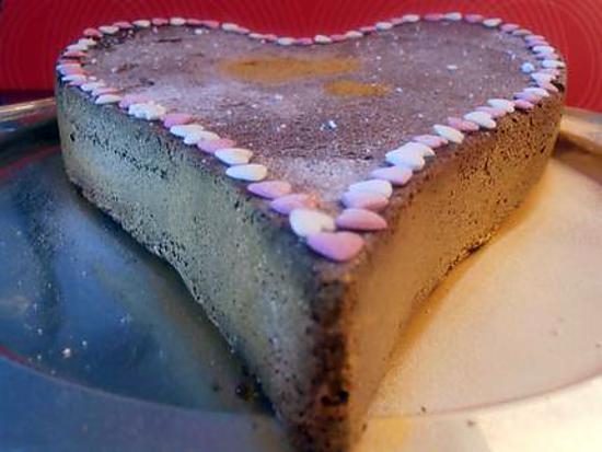 recette coeur marbré (saint valentin)